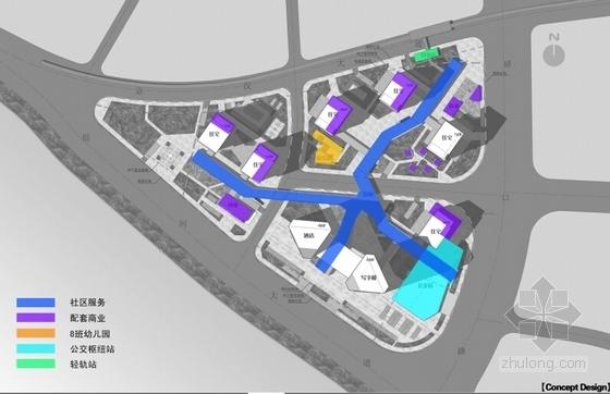 [武汉]开敞式小区景观规划设计方案-配套设施