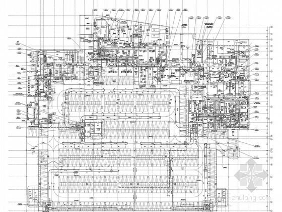 [北京]高层酒店建筑空调通风及防排烟系统设计施工图(冷热源系统)