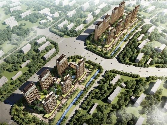 [福建]新中式风格住宅小区规划设计方案文本(含PSD CAD 知名设计院)