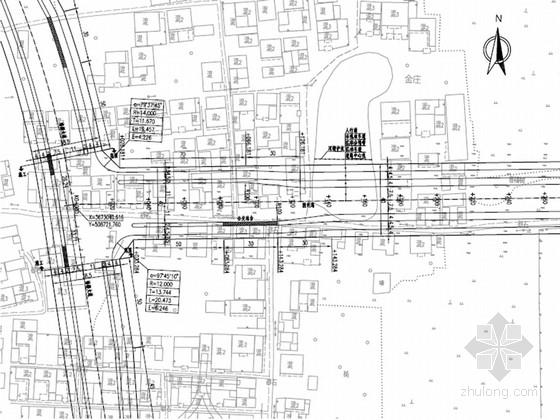 [安徽]城市主干路道路工程施工图设计51张