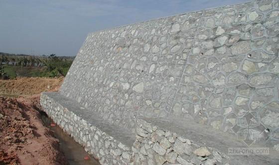 建筑工程挡土墙施工基本知识及设计要点