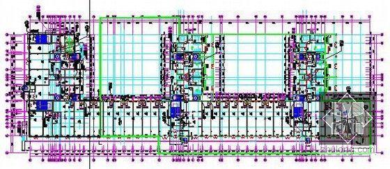 [新疆]2015年住宅区消防工程预算书(附图纸广联达软件应用)-一层平面图