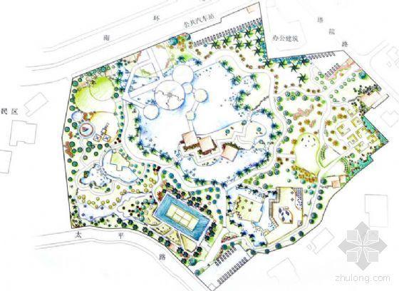 北京县城公园景观设计方案