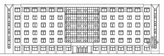 某六层办公楼建筑方案图