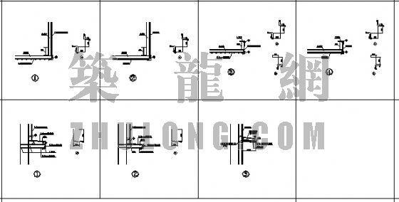 钢结构节点详图