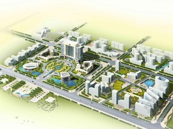 [湖南]行政办公区规划及单体设计方案文本(资料详细,内容丰富,值得参考)