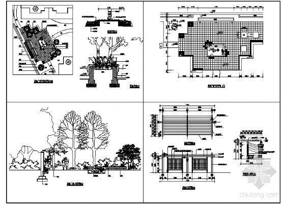 花架广场详图-4