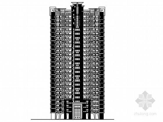 [东莞市]某镇社区农民公寓10号楼建筑施工图