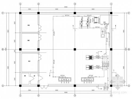 [哈尔滨]小区集中供热热力站系统设计施工图