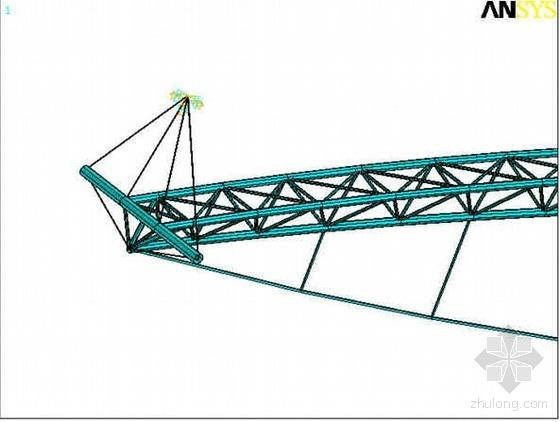 黑龙江某会展体育中心钢结构工程施工方案(张弦桁架 索拱结构 跨度128m)