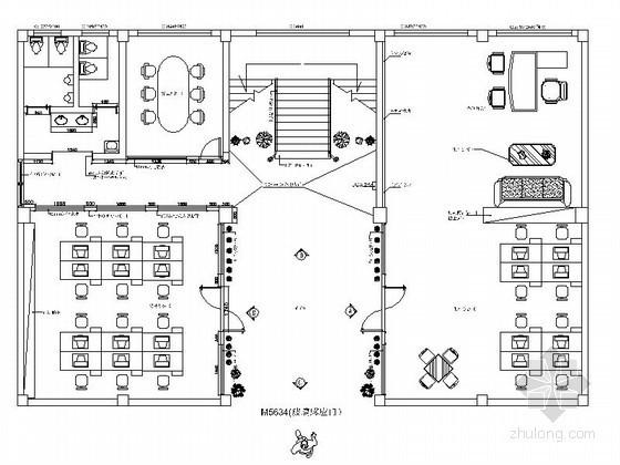 某办公楼室内装修设计图