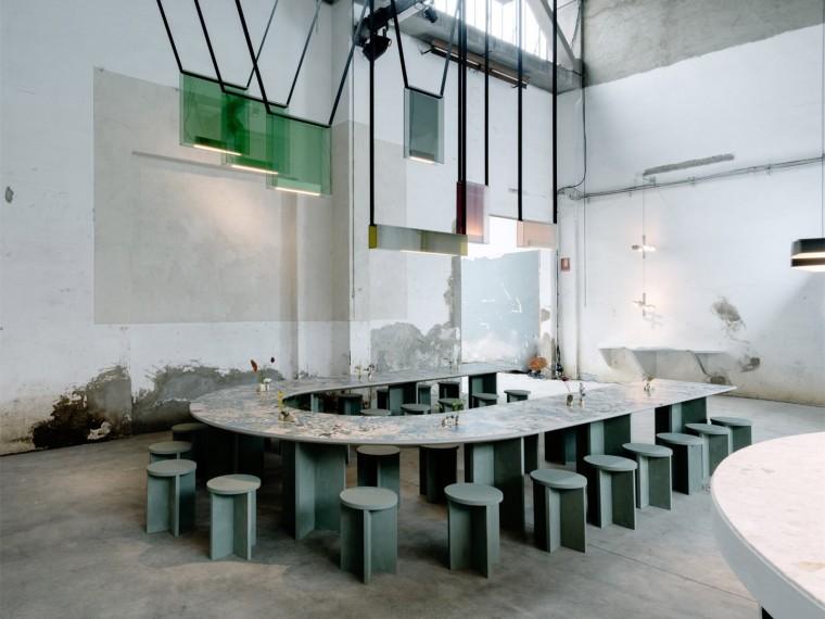 米兰设计周开设的咖啡馆