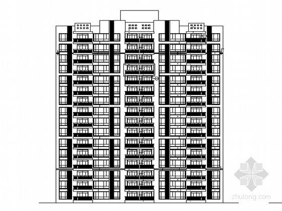 [湖南]某十六层农民公寓安置楼建筑施工图(含节能专篇)