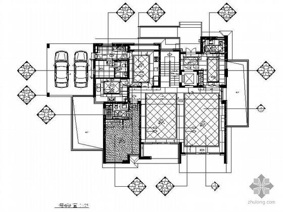 [苏州]三层豪华公寓设计装修图