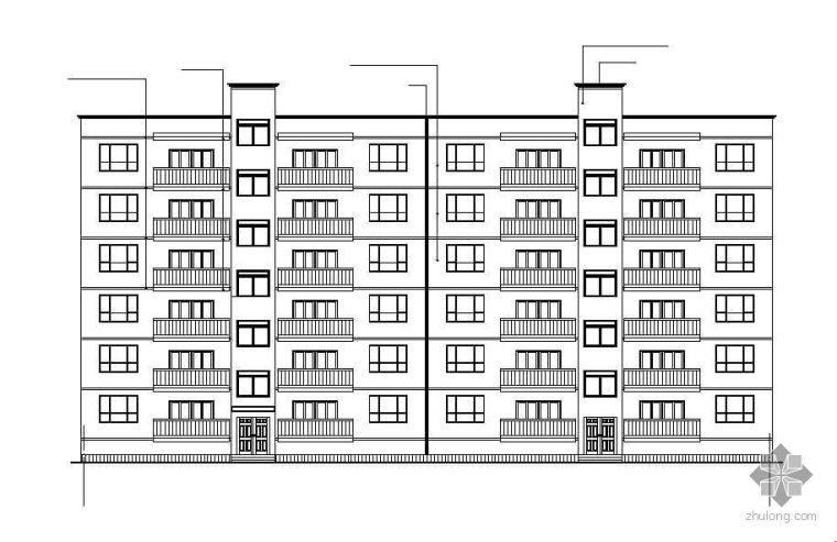 某学生房屋建筑学课程设计作业