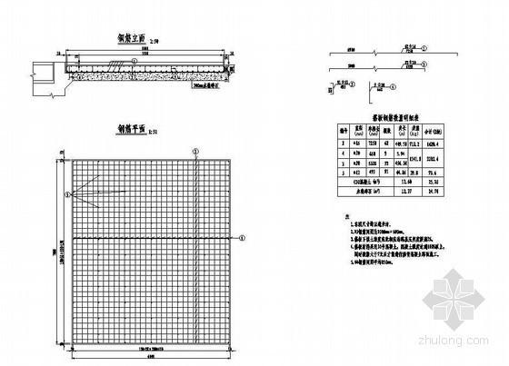 5×15米预应力混凝土空心板成套cad设计图纸