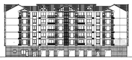 富杰建设街商住楼建筑结构施工图