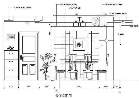 新古典二室两厅装修图-4