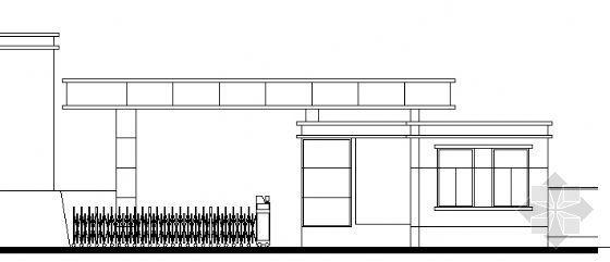 某单层门卫建筑施工图