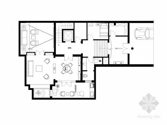 [江苏]中式三层别墅室内装修设计方案