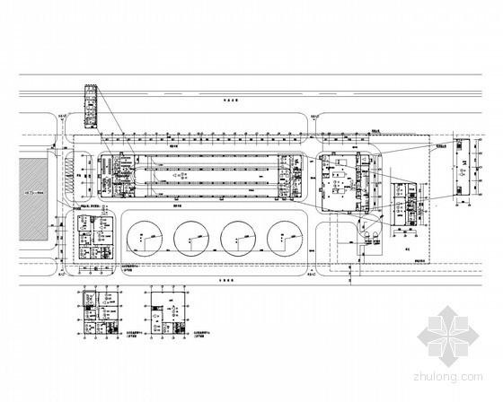 [上海]机场能源中心初步设计施工图纸
