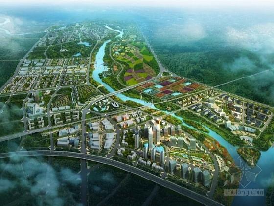 [广西]现代风格城市核心片区规划设计方案文本