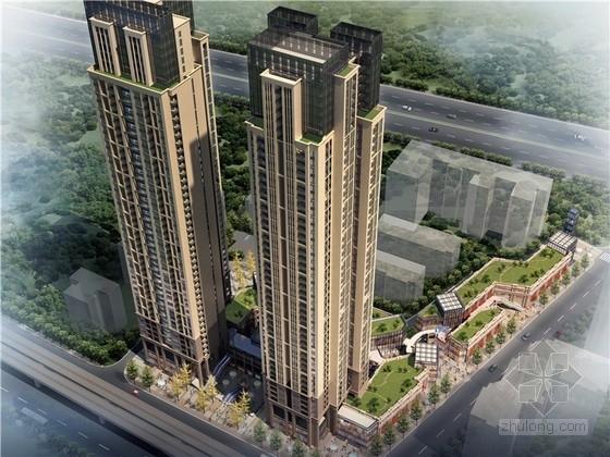 [湖北]新古典风格高层住宅建筑设计方案文本(知名设计院)