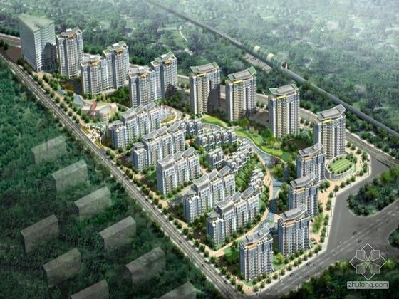 [北京上地]某高档住宅小区总规划方案设计文本