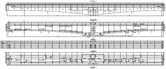 [湖南](48+80+48)m单线有砟轨道悬臂灌注连续梁设计图57张(含附属设施构造)