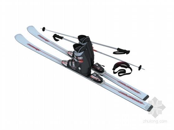 雪橇3D模型下载