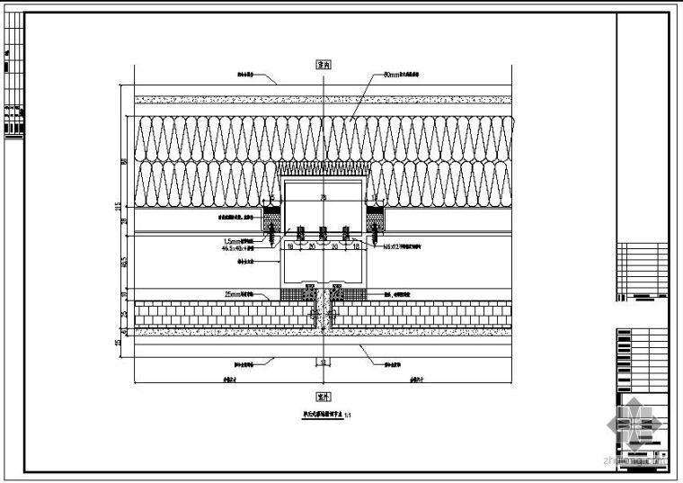 广州某电视塔单元式幕墙结构节点构造详图