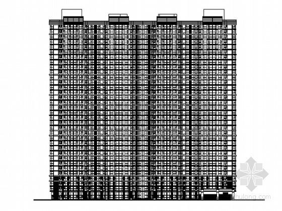 [河北省]某三十四层住宅楼(5号楼)建筑施工图(含节能设计及计算书)