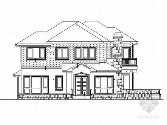 某中式風格二層住宅建筑施工圖