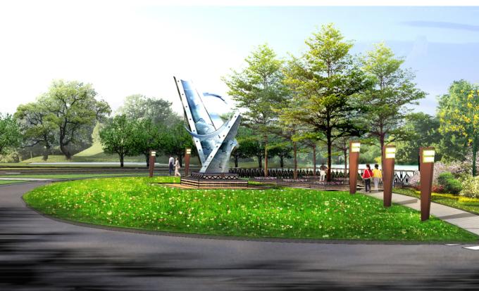 """[广东]""""源代码""""科技创意生态道路景观改造设计方案_2"""