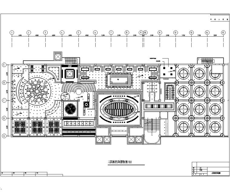 多层休闲酒店装修设计施工图