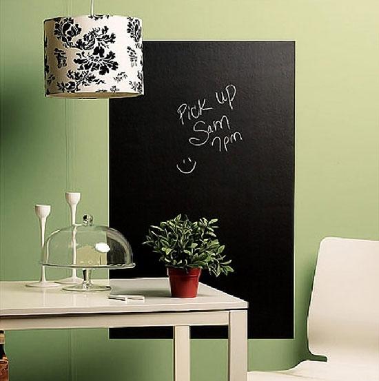 趣味又实用的黑板墙,涂涂写写一样美。_5