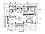 现代简约风格完整别墅设计施工图(含效果图)