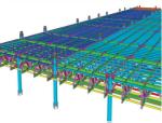 三维钢结构设计案例南京火车站