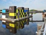 德国模块化预制漂浮建筑欣赏