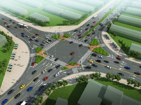 道路设计讲义第七章城市道路交叉口规划设计(平面交叉口)