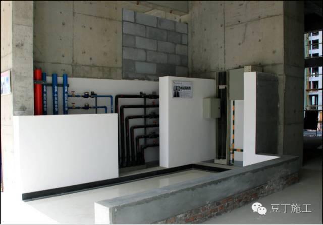 管道井、管根、沟类工程优秀做法