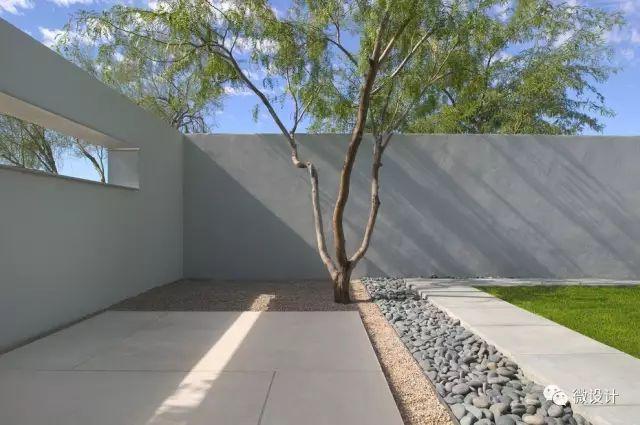 各式各样的庭院景观墙,美_1