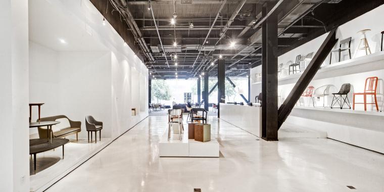 [上海]设计共和的设计公馆DesignCollective-展厅设计方案文本
