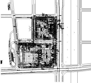 [浙江]地下一层停车场建筑施工图(出图图纸)