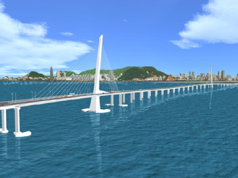 21世纪香港斜拉桥建设工程汇报材料_1