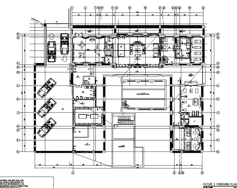 新中式风格会所空间设计施工图(附效果图+pdf设计方案)