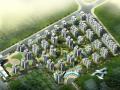 万达东京湾小区规划建筑设计方案文本(含CAD图纸)