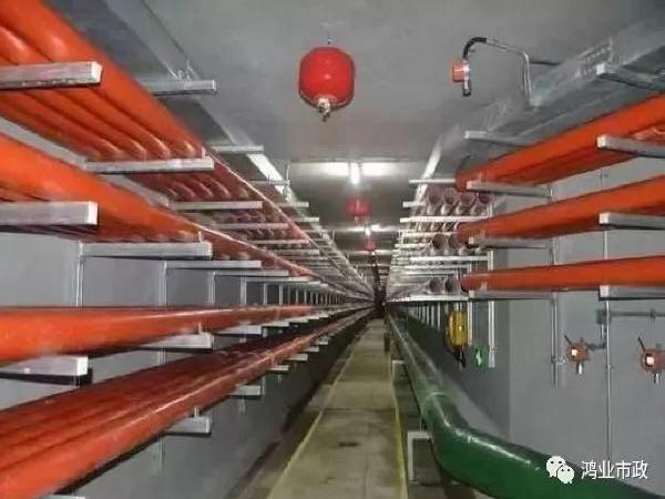 燃气管道纳入地下综合管廊的设计
