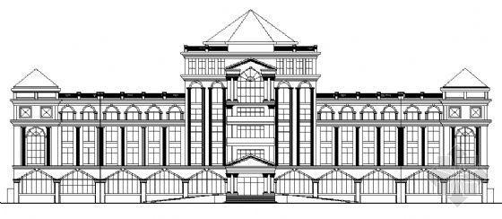 某花卉研究中心欧式建筑施工图