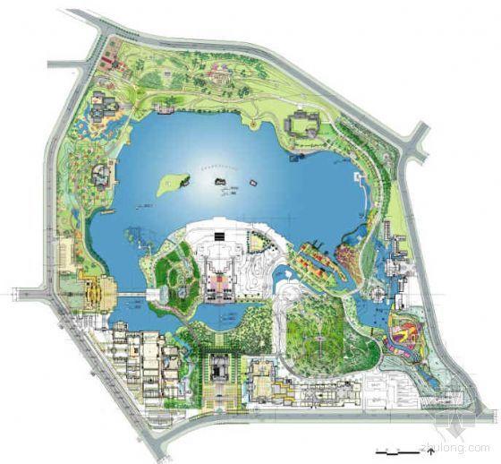 [西安]大唐芙蓉园全套景观设计方案